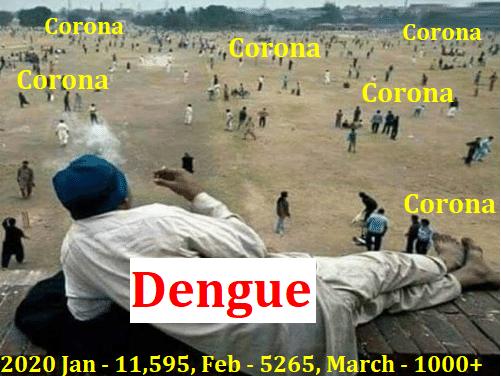 நான் உங்க Dengue பேசுறேன். என்னம்மா கண்ணு செளக்கியமா!