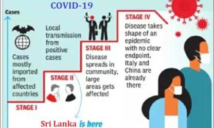 COVID-19 Pandemic கொள்ளை நோய் பரவலில் நான்கு நிலைகள்
