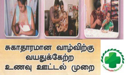 குழந்தைகளுக்கு தாய்ப்பாலுடன் மேலதிக உணவு (Complementary Feeding) வழங்கும் வழிகாட்டல்.