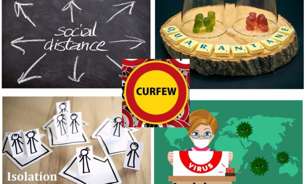 COVID-19 சமூக விலகல் (Social Distancing). தனிமைப்படுத்தல் (Quarantine), Isolation , முடக்கம் (Lockdown) மற்றும் தனிமைப்படுத்தல் ஊரடங்கு   (Quarantine Curfew ) வேறுபாடுகள்